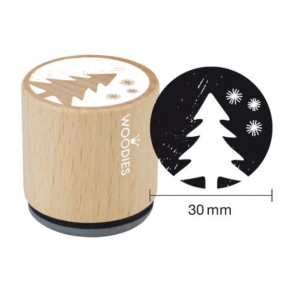 Woodies Stempel - Tannenbaum W07006