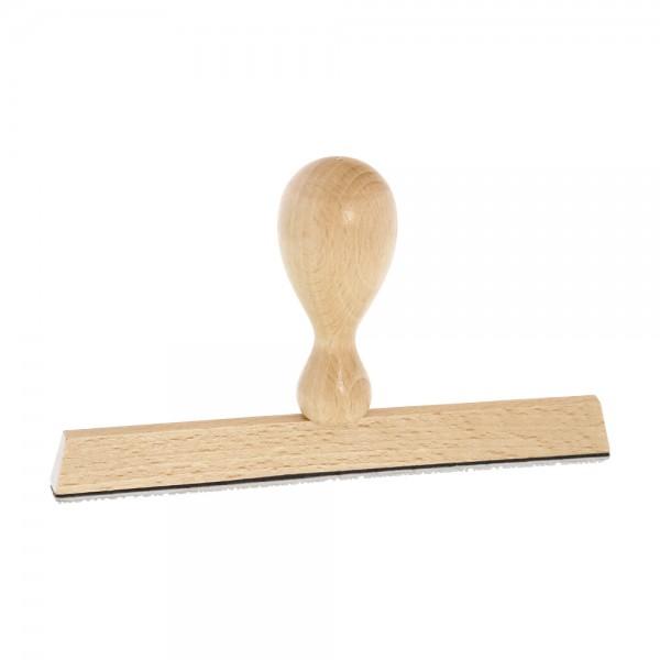 Holzstempel / Wiegestempel (150x10 mm - 2 Zeilen)