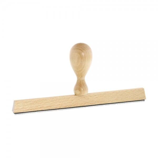 Holzstempel / Wiegestempel (190x10 mm - 2 Zeilen)