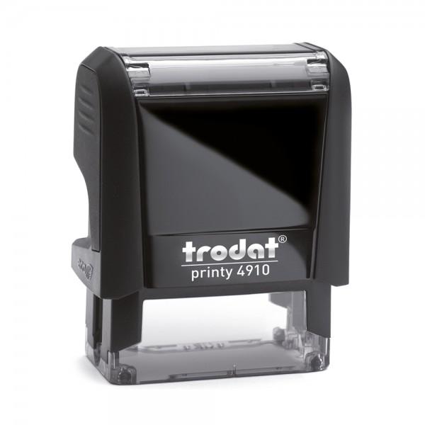 Textstempel Trodat Printy 4910 (26x9 mm - 3 Zeilen)