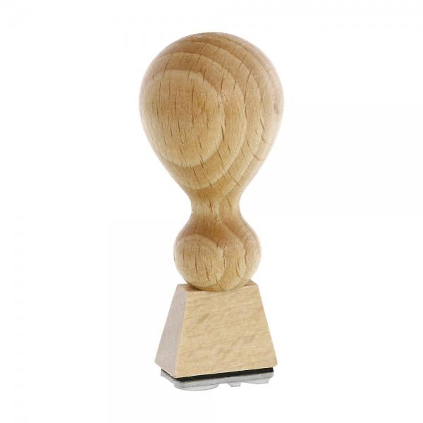 Holzstempel (20x10 mm - 2 Zeilen)