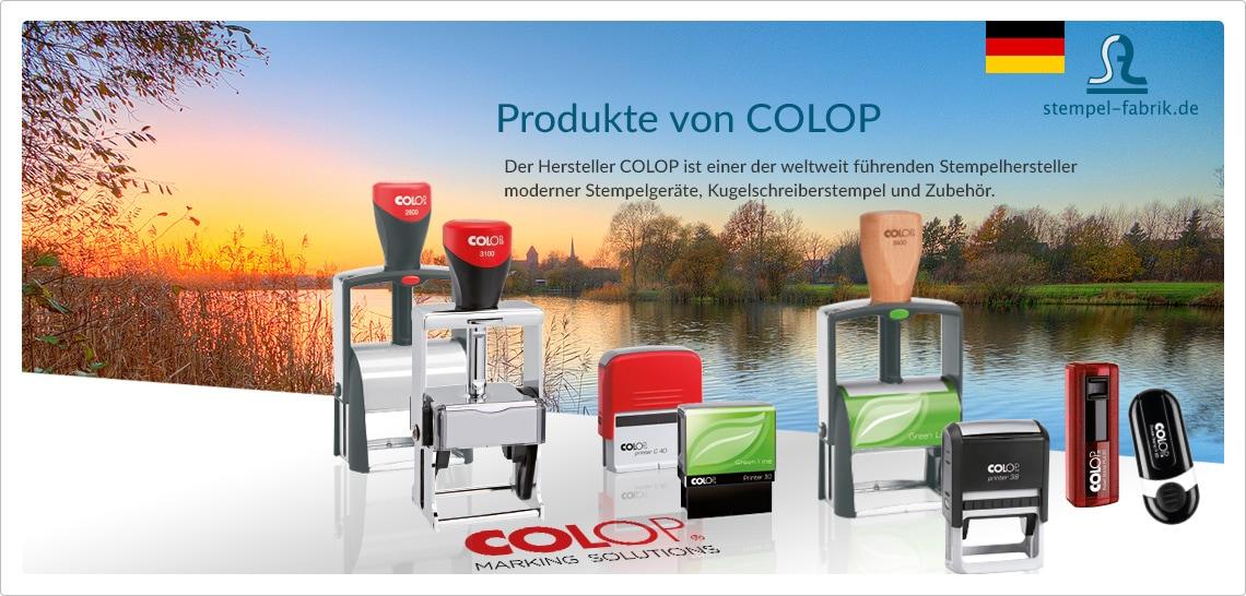Stempel & Zubehör von Colop