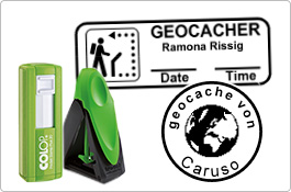 Geocaching-Stempel