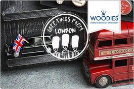 Woodies Stempel London - England