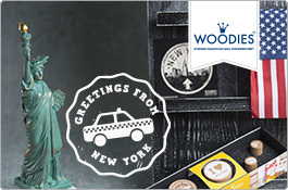 Woodies Stempel New York - USA