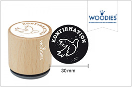 Woodies Stempel Kommunion & Konfirmation