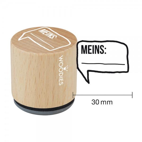 Woodies Stempel - Meins W08005