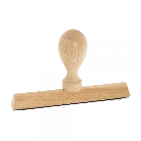 Holzstempel / Wiegestempel (130x10 mm - 2 Zeilen)